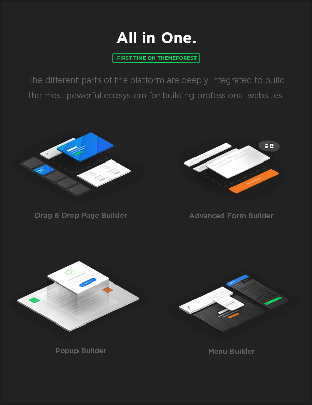 MEGAPACK – Marketing HTML Landing Pages Pack + PixFort Page Builder Access - 11